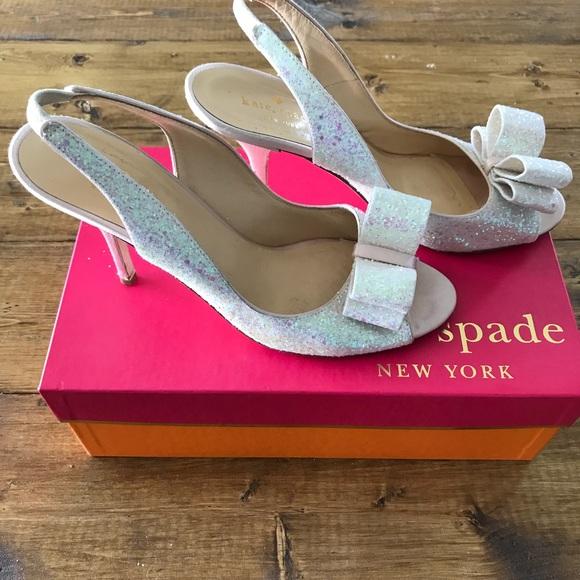e77370e19da9 kate spade Shoes - Kate Spade New York Charm Glitter Heel!